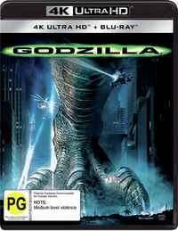 Godzilla (1998) on UHD Blu-ray