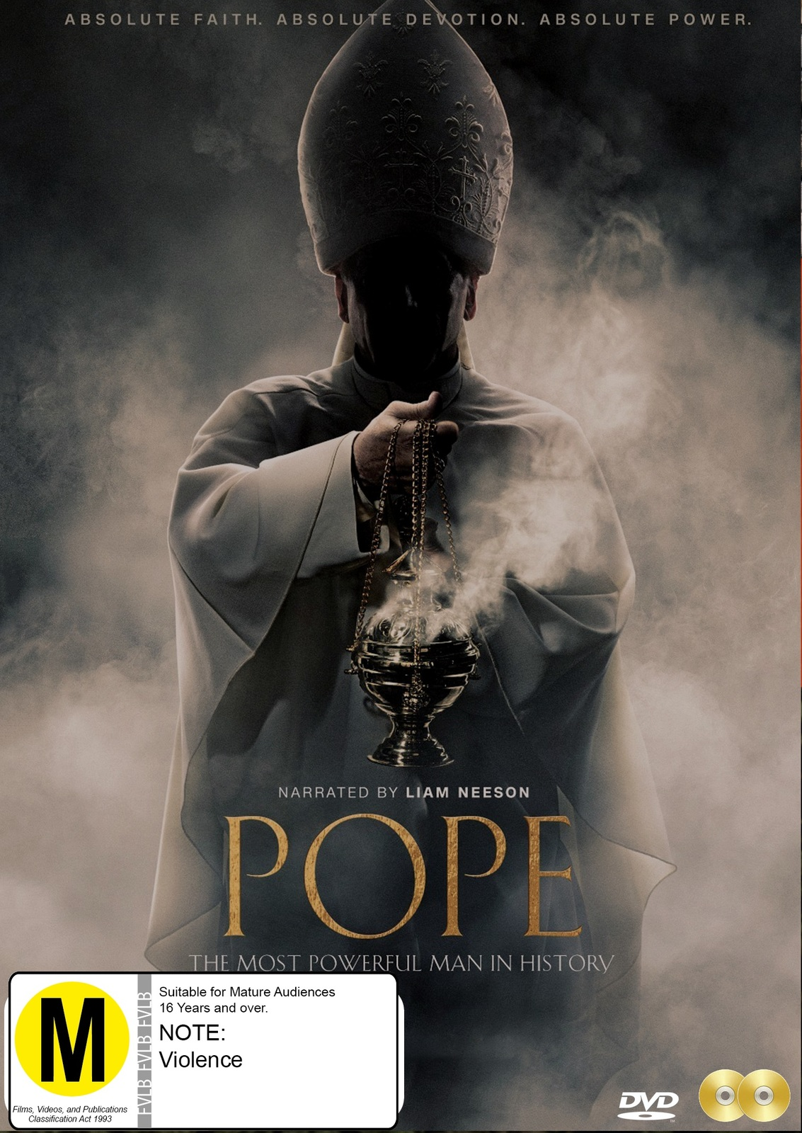 Pope: The Most Powerful Man In History on DVD image