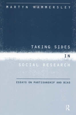 Taking Sides in Social Research by Martyn Hammersley image