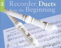 Recorder Duets From The Beginning by John Pitts image