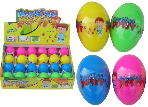 Bouncing Putty Egg Toy At Mighty Ape Nz