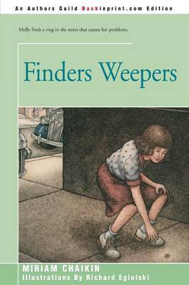 Finders Weepers by Miriam Chaikin image