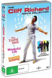 Cliff Richard Movie Collection (Summer Holiday/The Young Ones/Wonderful Life) on DVD