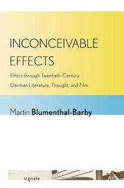 Inconceivable Effects by Martin Blumenthal-Barby