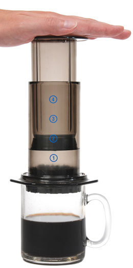 AeroPress Coffee Maker & Tote Bag image