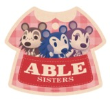 Animal Crossing: Travel Luggage Sticker - Able Sisters #4