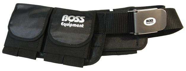 Dive/Weight Belt with Pockets - Soft Padded | Size: X-Large