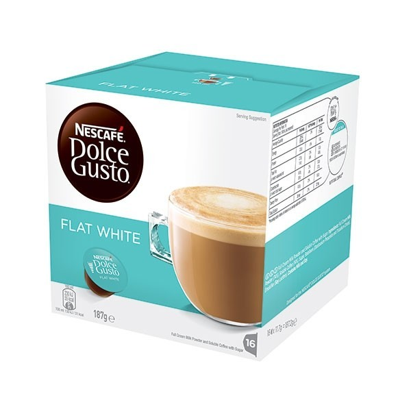 Nescafe Dolce Gusto - Flat White (16 Pack)