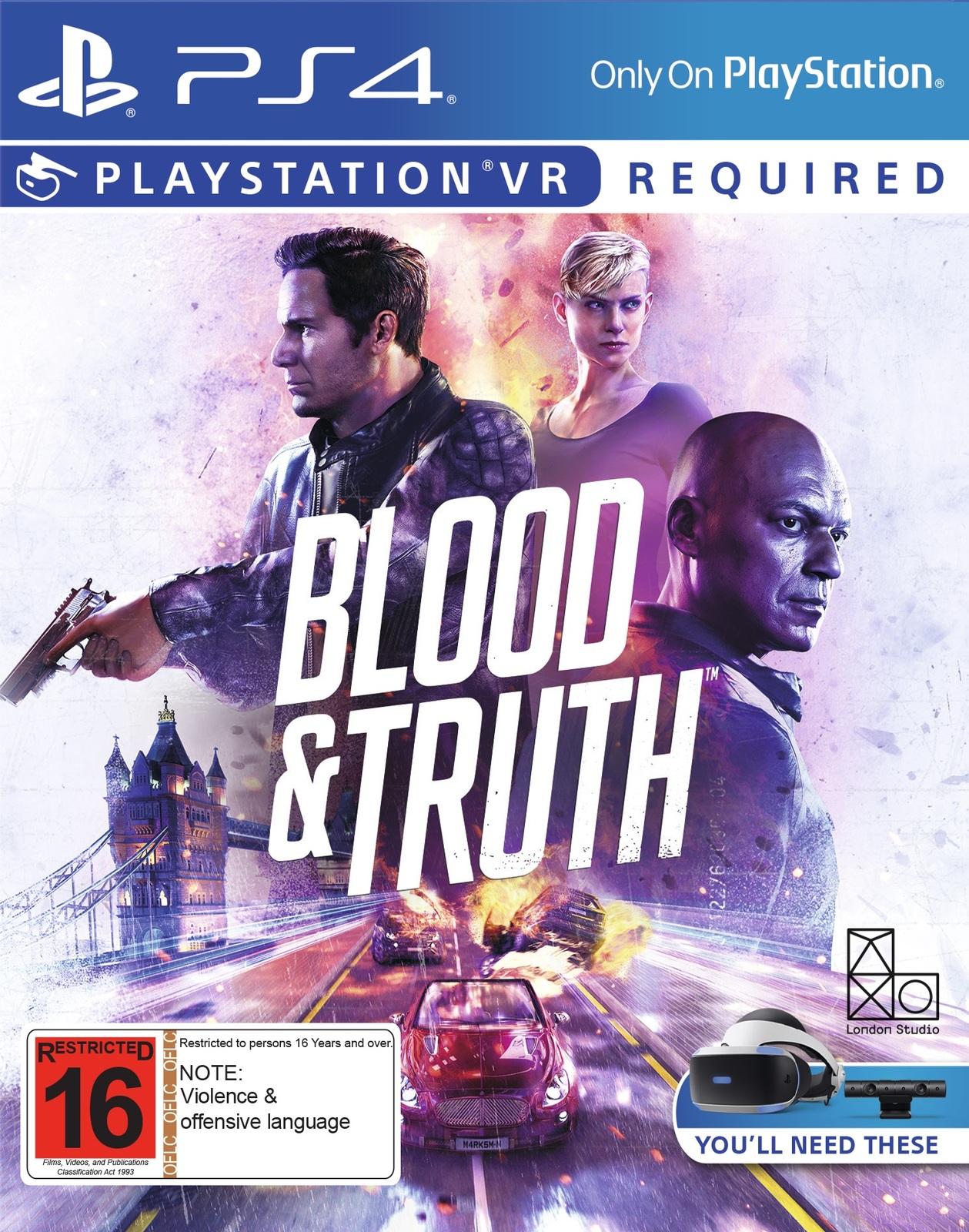 Blood & Truth VR screenshot