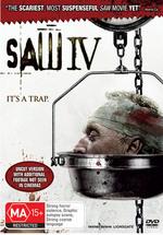 Saw IV on DVD