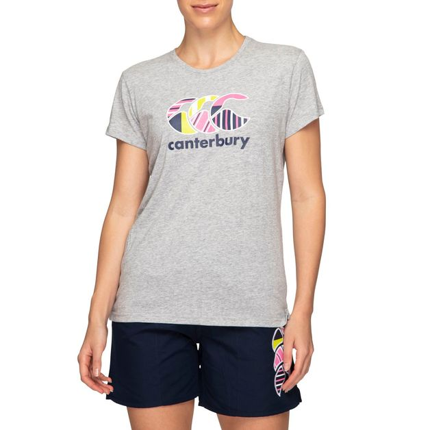 Canterbury: Womens CCC Uglies Tee - Classic Marl (Size 14)