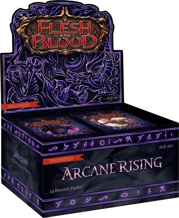 Flesh and Blood TCG: Arcane Rising Booster Box (Unlimited)