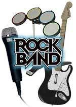 Rock Band Instrument Bundle (Guitar/Drums/Mic) for Wii