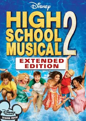 High School Musical 2 on DVD