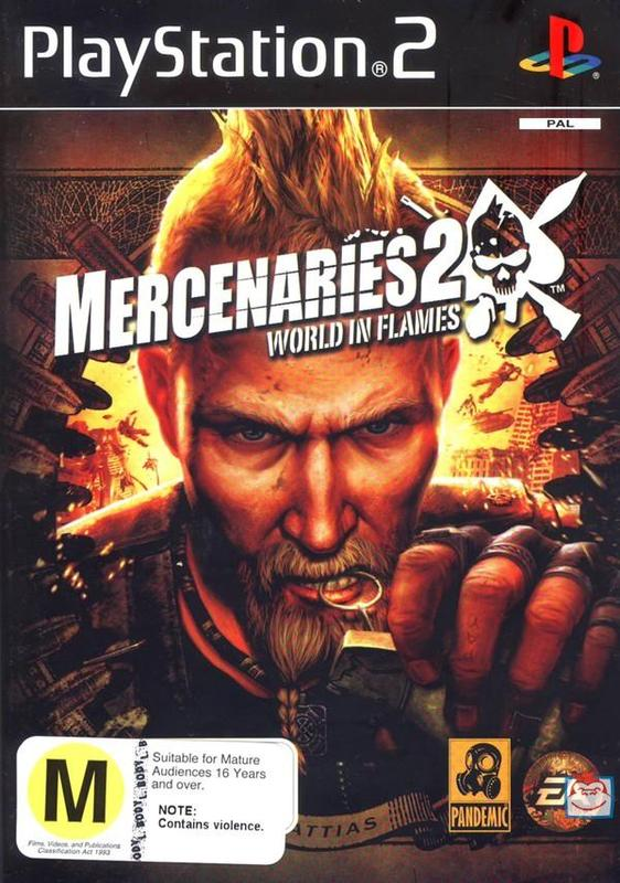 Mercenaries 2: World in Flames for PlayStation 2