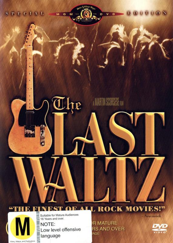The Last Waltz on DVD