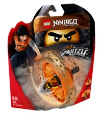LEGO Ninjago: Cole - Spinjitzu Master (70637)