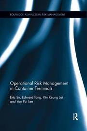 Operational Risk Management in Container Terminals by Eric Su image