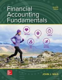 Loose Leaf for Financial Accounting Fundamentals by John J Wild