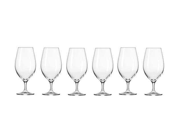 Krosno: Harmony Beer Glass Set of 6 (400ml)