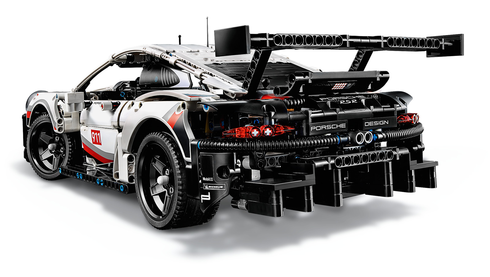 lego technic porsche 911 rsr toy at mighty ape nz. Black Bedroom Furniture Sets. Home Design Ideas