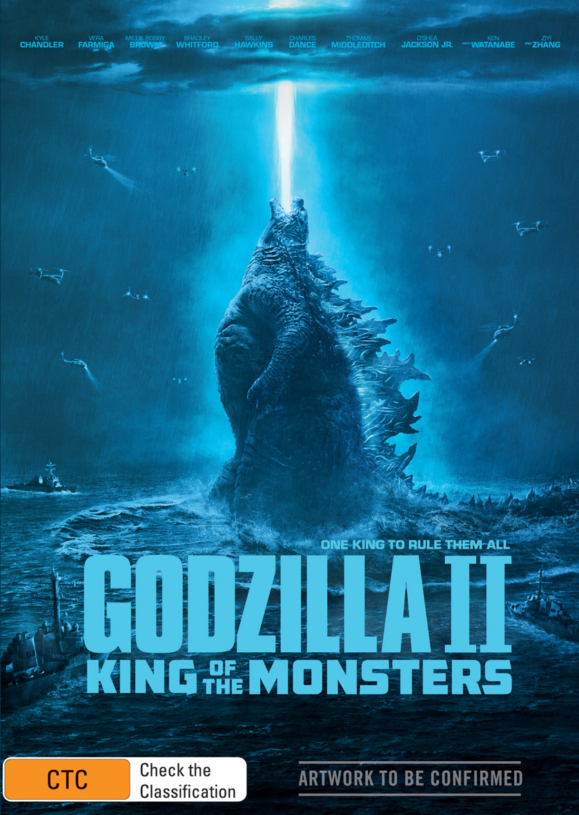 Godzilla: King of the Monsters on DVD image