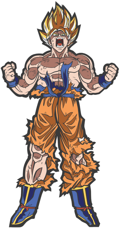 Dragon Ball Z: SS Goku (#29) - Collectors FIGPiN