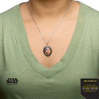 Star Wars Stainless Steel Rey Cameo Pendant