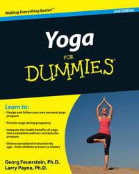 Yoga For Dummies by Georg Feuerstein, PhD image