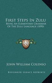 First Steps in Zulu: Being an Elementary Grammar of the Zulu Language (1890) by Bishop John William Colenso