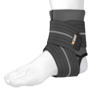 Shock Dr Ankle Sleeve with Compression Wrap (X-Large)