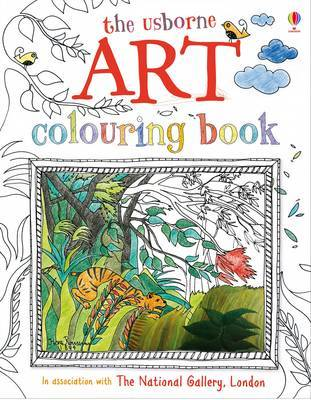 Art Colouring Book by Rosie Dickins image