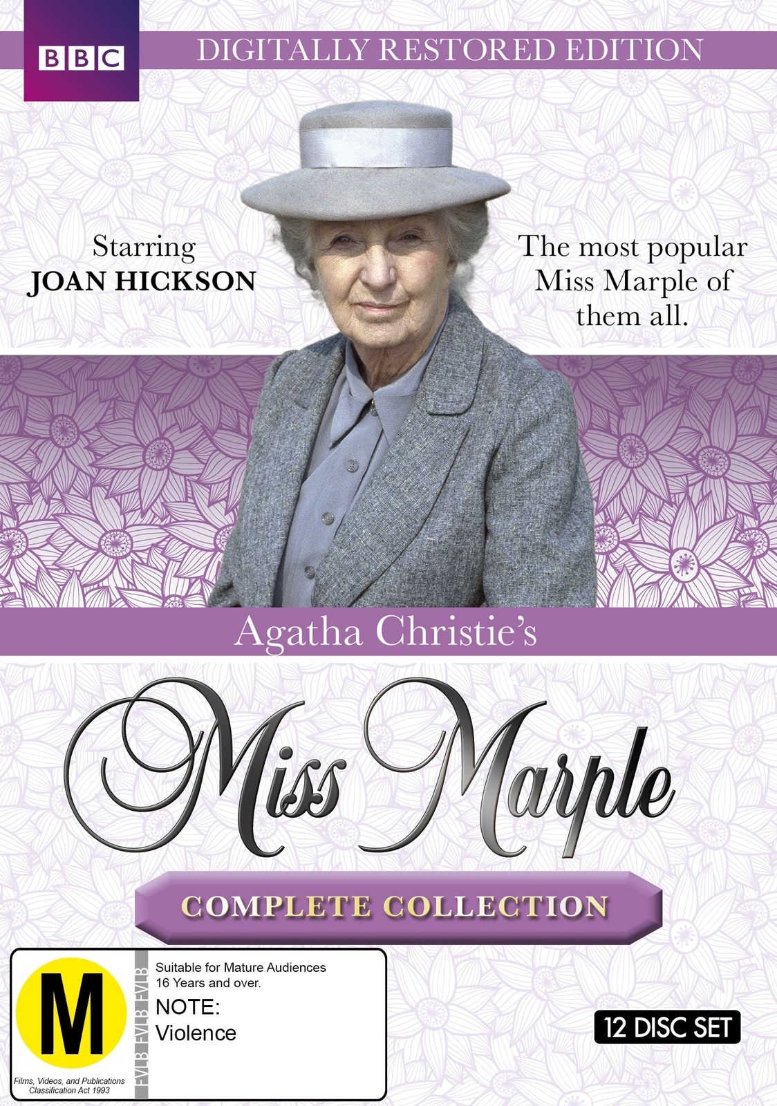 Agatha Christie's: Miss Marple - The Complete Collection (Restored Edition) on DVD image
