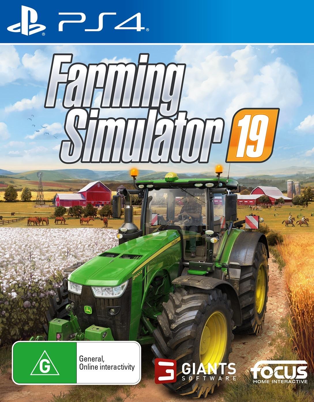 Farming Simulator 19 for PS4 image