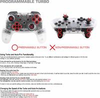 Nyko Switch Wireless Core Controller (Clear) for Switch image