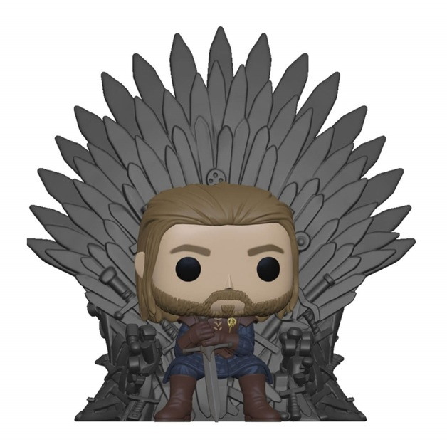Game of Thrones: Ned Stark on Throne - Pop! Vinyl Figure