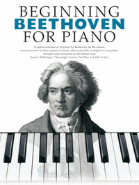 Beginning Beethoven For Piano by Ludwig van Beethoven image