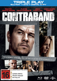 Contraband - Triple Play on DVD, Blu-ray, DC
