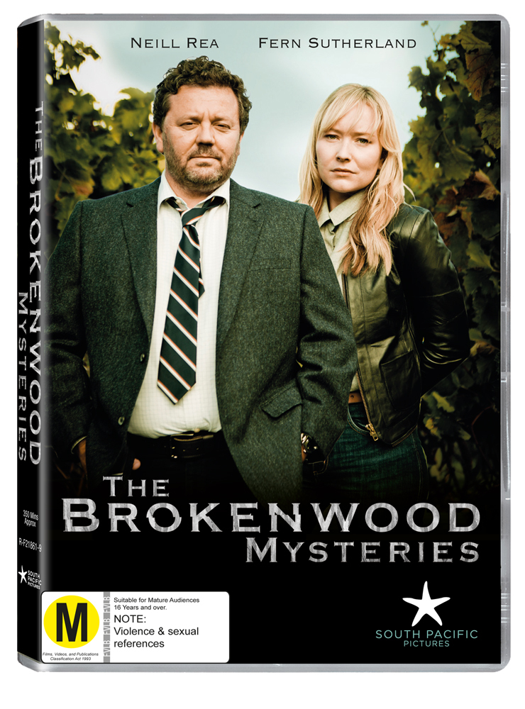 The Brokenwood Mysteries - Season One on DVD image