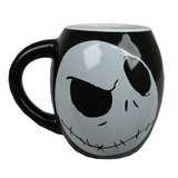 Nightmare Before Christmas Jack Skellington Oval Mug