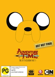 Adventure Time: The Complete Fifth Season - Part 1 on DVD