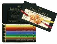 Faber-Castell : Polychromos Pencil Tin of 12
