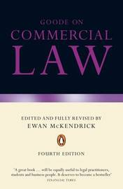 Commercial Law by Roy Goode