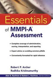 Essentials of MMPI-A Assessment by Robert P Archer