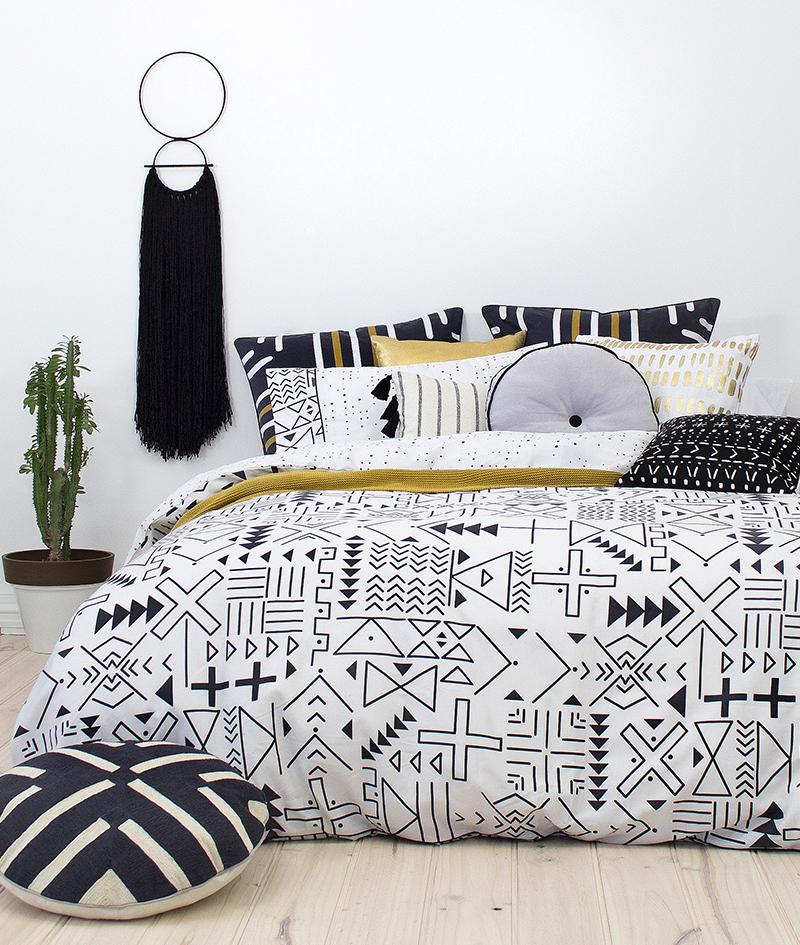 Bambury Double Quilt Cover Set (Farah) image