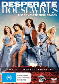 Desperate Housewives - The Complete Sixth Season on DVD