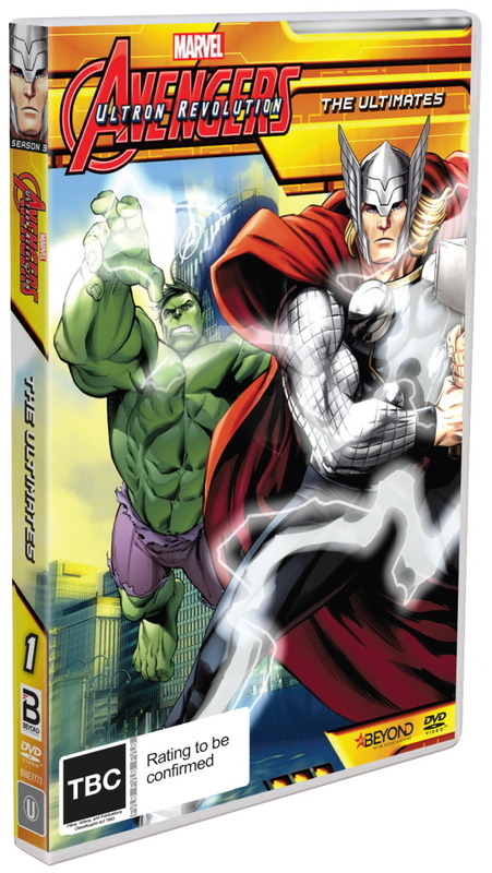 Avengers Assemble - The Ultimates on DVD