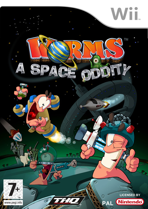 Worms: A Space Oddity for Nintendo Wii image