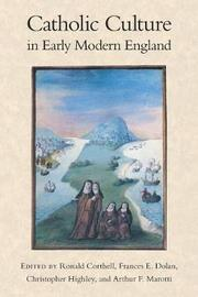 Catholic Culture in Early Modern England image