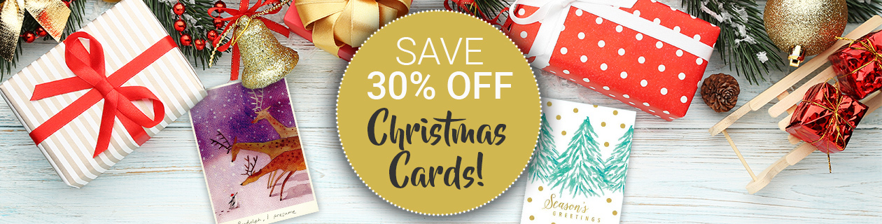 30% off Christmas Cards!